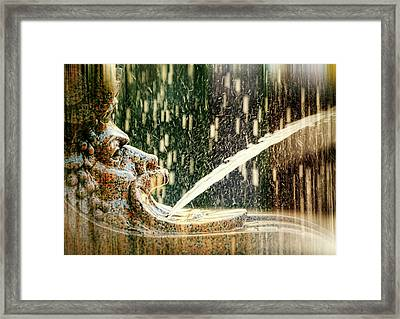 Mouthing Off Framed Print by Diana Angstadt