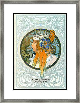 Mova Poster Profile Left 2015 Framed Print