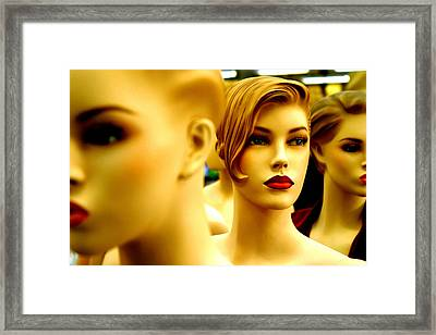 Move Along Framed Print by Jez C Self