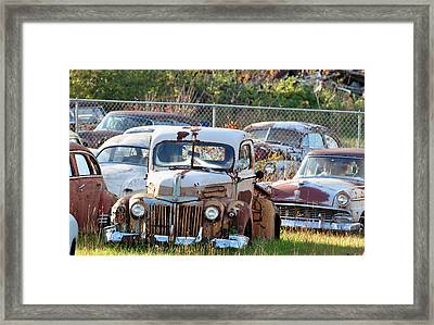Move It Or Lose It Framed Print