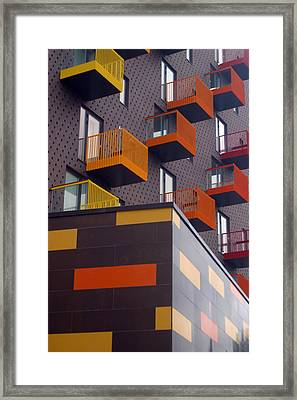 Move On Up Framed Print by Jez C Self