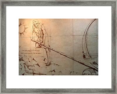 Move The World Framed Print