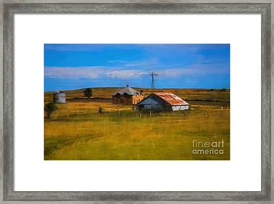 Moved To Town Framed Print by Jon Burch Photography