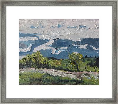 Movement Framed Print by Francois Fournier