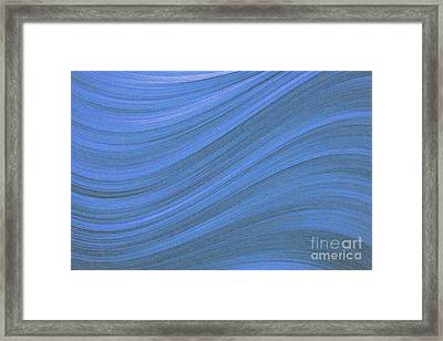 Movement In Waves Framed Print