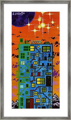 Move'n On Up Framed Print by Dan Keough