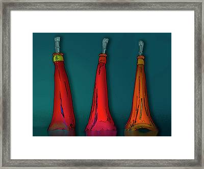 Movers And Shakers Framed Print
