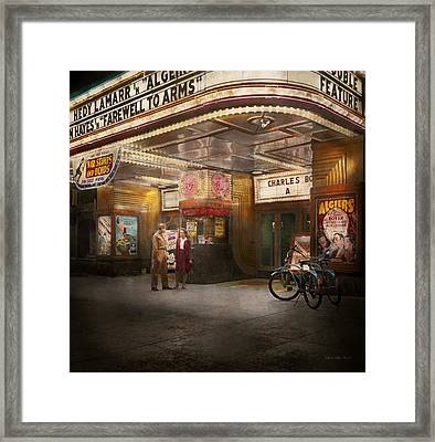 Movie - Double Feature 1942 Framed Print by Mike Savad