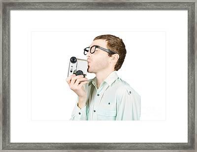 Movie Love Framed Print by Jorgo Photography - Wall Art Gallery
