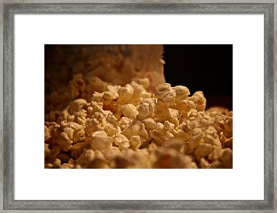 Movie Night Framed Print by Susan Herber