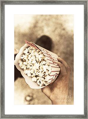 Movie Nostalgia Framed Print