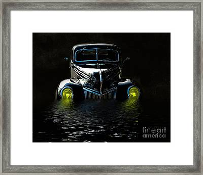 Moving Ahead Framed Print by Mim White
