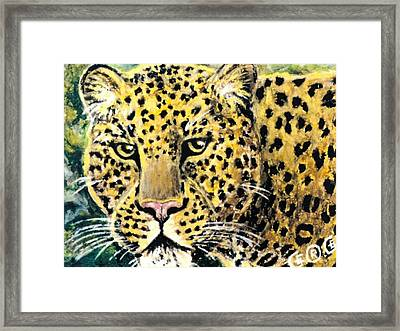 Moving Beauty Framed Print