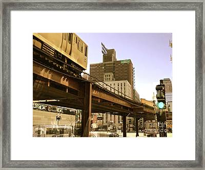 Moving Boxes Too Framed Print by Trish Hale