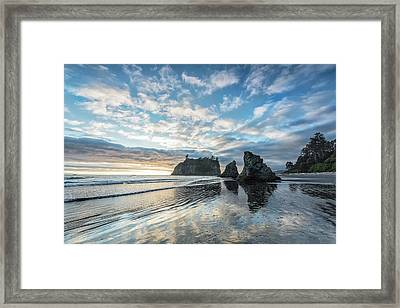 Moving But Still Framed Print