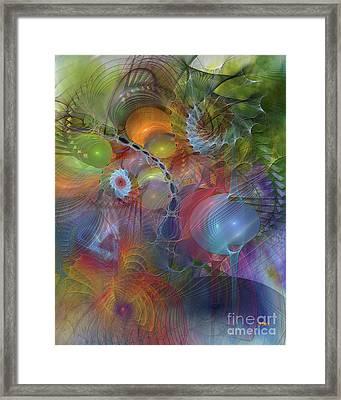 Moving Forward Framed Print