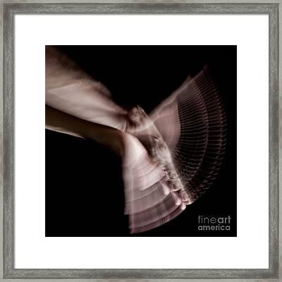 Moving Hands A070450 Framed Print