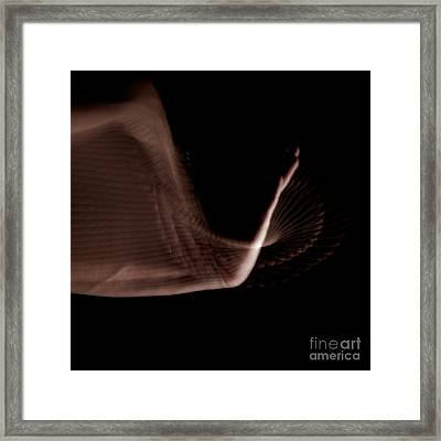Moving Hands A070513 Framed Print