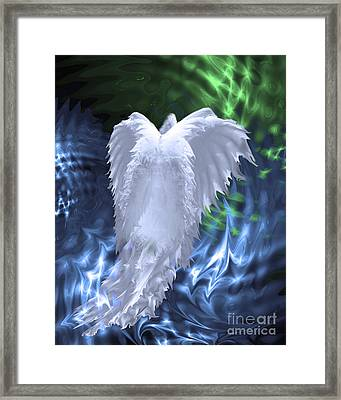 Moving Heaven And Earth Framed Print by Cathy  Beharriell