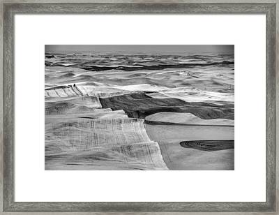 Moving Hills Framed Print