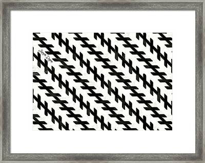 Moving Illusion Framed Print
