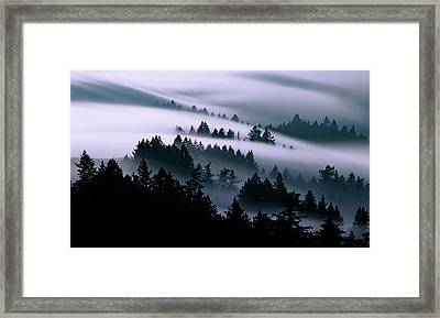 Moving, Just Keep Moving Framed Print by Vincent James