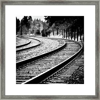 Moving On Framed Print by Brian Bonham