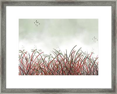 Moving On.. Framed Print