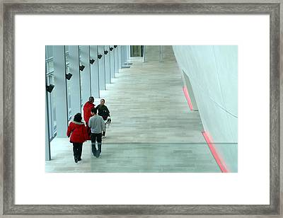 Moving Out Framed Print by Jez C Self