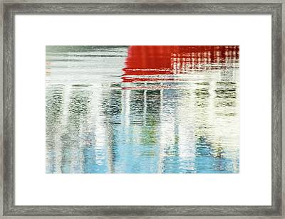 Moving Reflections Framed Print