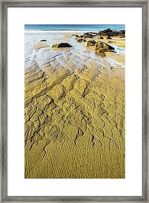Moving Sand Framed Print by Brent L Ander