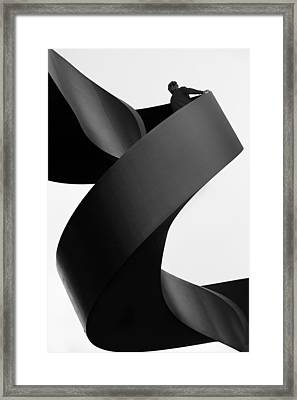 Moving Still Framed Print by Paulo Abrantes