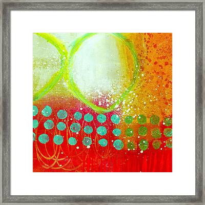 Moving Through 10 Framed Print by Jane Davies