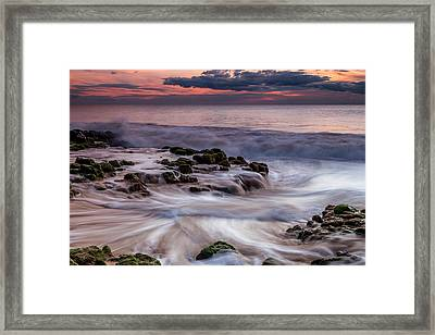 Moving Waters Framed Print
