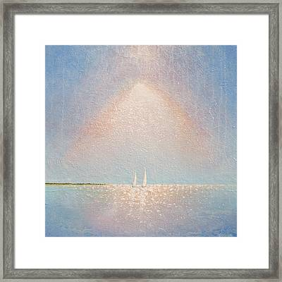 Moving With Spirit Framed Print