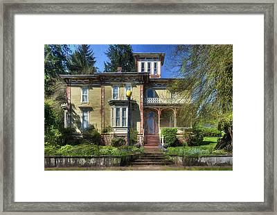 Moyer House Framed Print