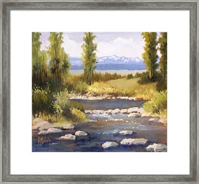 Moyie River Framed Print by Dalas  Klein