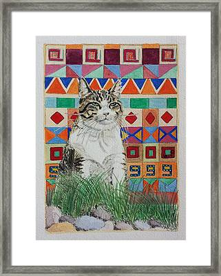 Mozart In The Grass Framed Print