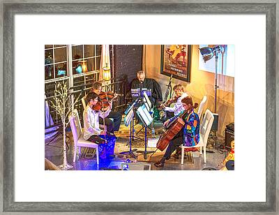 Framed Print featuring the photograph Mozart Mash by Anthony Baatz