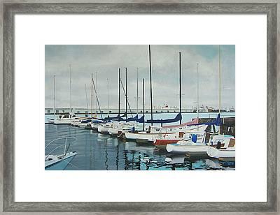 Mozells Boats Framed Print by Howard Stroman