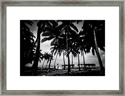Mozzie Bait Framed Print