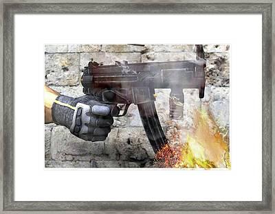 MP5 Framed Print