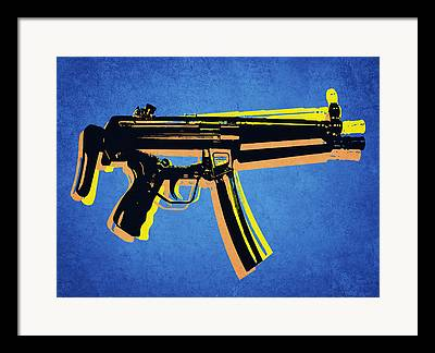 Assault Rifles Framed Prints
