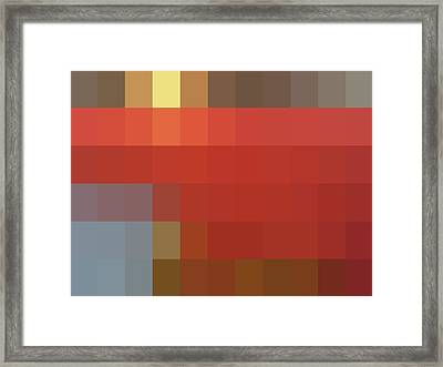 Mpliance To Nch - Context Series - Limited Run Framed Print by Lars B Amble