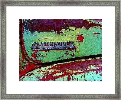 Mprints - Oldie But Goodie Framed Print