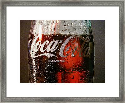 Mprints - Thirst Quencher Framed Print