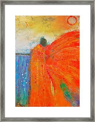 Mprints - Angel Of The Morning Framed Print by M Stuart
