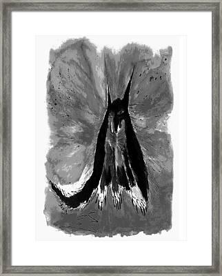 Mprints - Nerves On End Framed Print