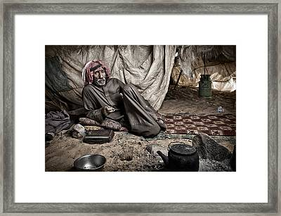 Mr Ali Framed Print by Ben Mcrae