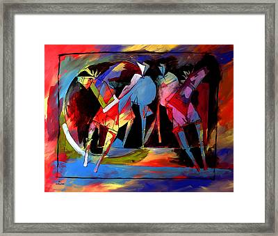 Mr Ameeba 1 Framed Print